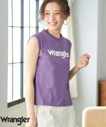 ROPE' PICNIC/【WRANGLER×ROPE' PICNIC】ロゴノースリーブTシャツ/501981685
