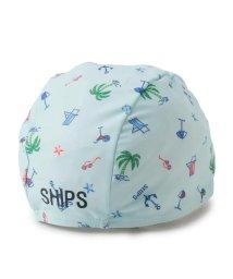 SHIPS KIDS/SHIPS KIDS:プリント スイムキャップ/501982033