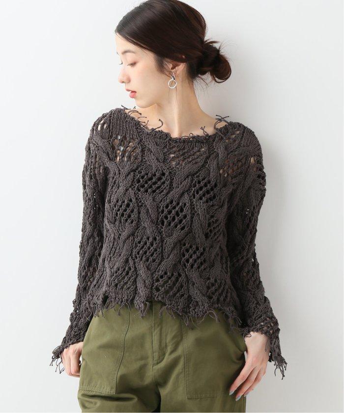 【ONE ON ONE(ワンオンワン)】 Skopelos sweater:セーター