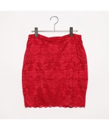 GUESS/ゲス GUESS NAVI LACE MINI SKIRT (CHERRY PUNCH)/501982421