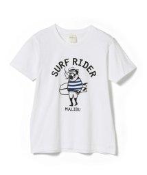 BEAMS MEN/fLAnsisCA × BEAMS / 別注 プリント Tシャツ1/501624290