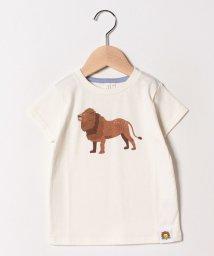 LAGOM/[ズーラシアコラボ]ライオンTシャツ/501965723
