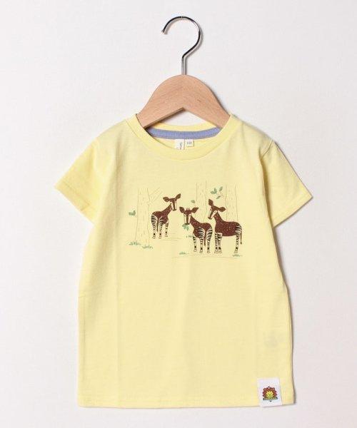 LAGOM(ラーゴム)/[ズーラシアコラボ]オカピTシャツ/1207592211411