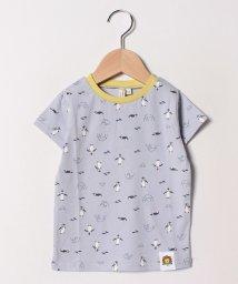 LAGOM/[ズーラシアコラボ]フンボルトペンギン総柄Tシャツ/501965730