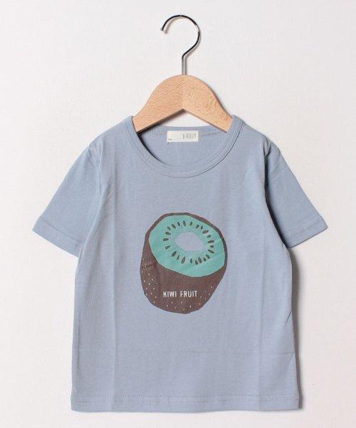 b-ROOM(ビールーム)/フルーツプリントTシャツ/9891227