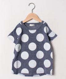 b-ROOM/肩落ちドットプリントTシャツ/501969696