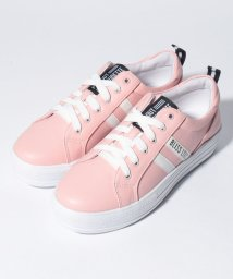Lovetoxic/サイドラインフェイクレザー厚底スニーカー/501969744