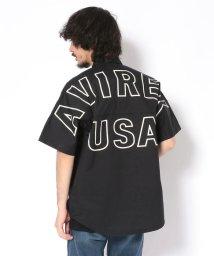 AVIREX/スターズ&ストライプス ビッグロゴ シャツ/STARS & STRIPES BIG LOGO SHIRT/501982907