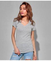 ANAP USA/ディープVネックTシャツ/501982984
