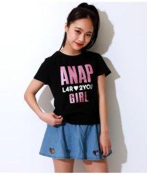 ANAP GiRL/グリッターロゴトップス/501983035