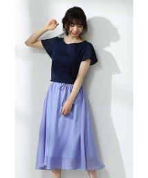 PROPORTION BODY DRESSING/シアショート丈フレアスリーブブラウス/501983183