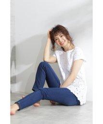 PROPORTION BODY DRESSING/|and GIRL 7月号掲載|スキニーデニムパンツ/501983184
