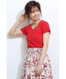 PROPORTION BODY DRESSING/シャーリングニット/501983190