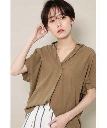 ROSE BUD/[7月号ViVi掲載]スキッパーシャツ/501983209