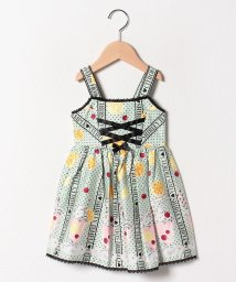 ShirleyTemple/シトラスソーダプリントジャンパースカート(100~130cm)/501950682
