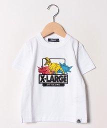XLARGE KIDS/恐竜プリントTシャツ/501969759
