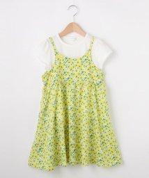 3can4on(Kids)/【セット商品】【100cm~150cm】キャミワンピ&Tシャツの2枚セット/501983486