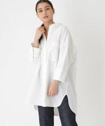 DRESSTERIOR/【洗える】カラーダンガリービッグシャツ/501565845