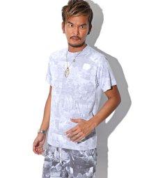 LUXSTYLE/サーフフォトセットアップ(Tシャツ&スウェットショーツ)/BITTER セットアップ Tシャツ ショーツ スウェット 半袖/501623632