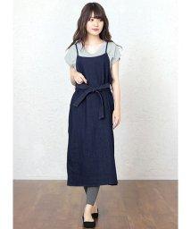 HAPPY EXP/リボン付きジャンパースカート/501983521