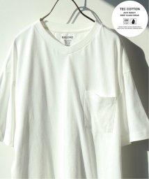 JOURNAL STANDARD relume Men's/《予約》【汗染み防止・吸水速乾】TEC COTTON VネックTシャツ/501983549