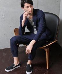 TopIsm/上下セット!綿麻リネン長袖テーラードジャケットとジョガーパンツ/501983824