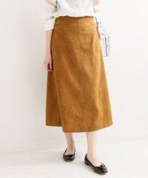 IENA/スウェードAラインスカート/501984663