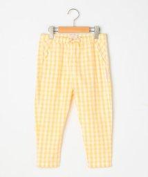 SHIPS KIDS/TINY COTTONS:チェック クロップド パンツ(100~130cm)/501985299
