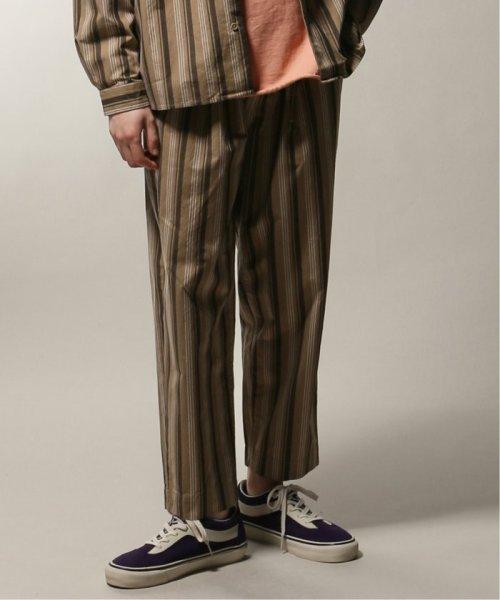JOURNAL STANDARD relume Men's(ジャーナルスタンダード レリューム メンズ)/ウェザー ストライプ ワイドイージーパンツ/19030464318010