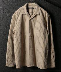 JOURNAL STANDARD relume Men's/ウェザー ストライプ オープンシャツ/501986441
