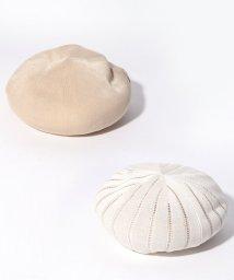 LANVIN en Bleu/リバーシブルベレー帽/501581935