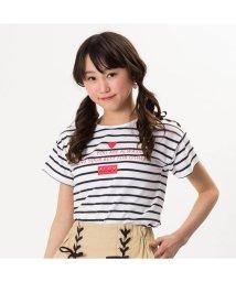ALGY/ショルダーレースアップTシャツ/501588818