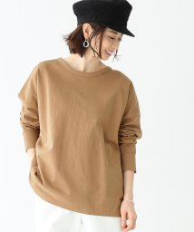 Demi-Luxe BEAMS/Demi-Luxe BEAMS / 天竺ロングスリーブ ビッグTシャツ/501877949