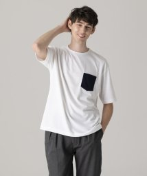 MACKINTOSH PHILOSOPHY/【WEB限定】ビッグボディカラーポケットTシャツ/501891144