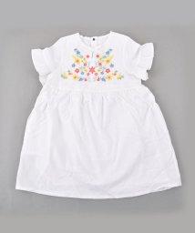 SLAP SLIP/ダンガリー花刺繍ワンピース/501911051