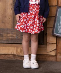 SLAP SLIP/ブロード花柄スカートパンツ/501911256