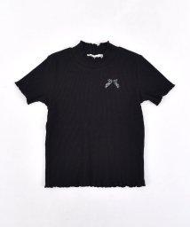 SLAP SLIP/TCテレコリボン付Tシャツ/501911338