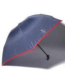 LANVIN en Bleu/ドット&スター柄折りたたみ傘/501936015