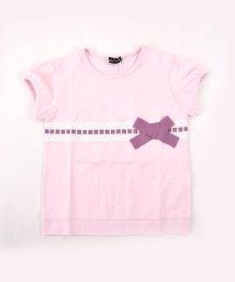 BeBe/ハシゴレースリボンTシャツ/501954262