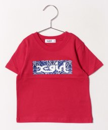X-girl Stages/バンダナボックスロゴTシャツ /501979793