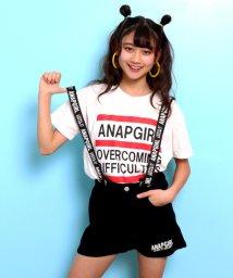ANAP GiRL/ロゴサスショートパンツ/501986701
