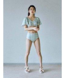 merry jenny/summer check bikini/501986819