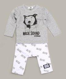 WASK/イヌT&ロゴパンツBABYセット/501987973