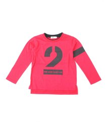 WASK/ナンバリングロングTシャツ(110~130cm)/501989047