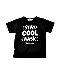 WASK/天竺柄ナレプリントTシャツ(140cm~160cm)/501989065