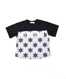 WASK/天竺前星柄ワイドTシャツ(110cm~130cm)/501989068