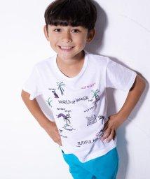 WASK/エルナイル刺繍風プリントTシャツ(110cm~130cm)/501989082
