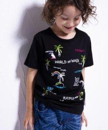 WASK/エルナイル刺繍風プリントTシャツ(140cm~160cm)/501989083