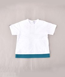 WASK/天竺ユニオンジャック切替ビッグTシャツ(140cm~160cm)/501989101