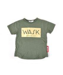 WASK/天竺ボックス箔プリントTシャツ(110cm~130cm)/501989102